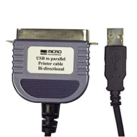 USB To Parallel Cable (Discontinued by Manufacturer)