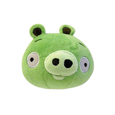 Angry Birds Plush 5-inch Piglet With Sound by Commonwealth Toy