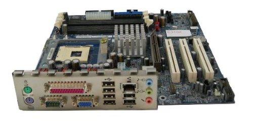 Ibm Processor Laptops - IBM 49P1599 FRU - System Board (400/533 Front side bus) w/o Processor, Memory or POV2 card w/Integrated 10/100 Ethernet