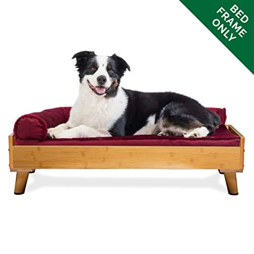 FurHaven Pet Bed Frame | Bed Frame for Pet Beds & Mattresses, Bamboo, Large