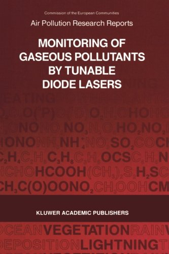 Monitoring of Gaseous Pollutants by Tunable Diode Lasers: Proceedings of the International Symposium held in Freiburg, G