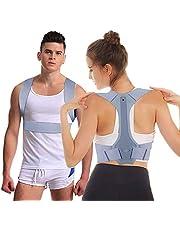 Nasharia Geradehalter zur Haltungskorrektur, Schulter Rücken Haltungsbandage Verstellbare, Rücken Geradehalter Corrector Posture Haltungstrainer für Damen und Herren