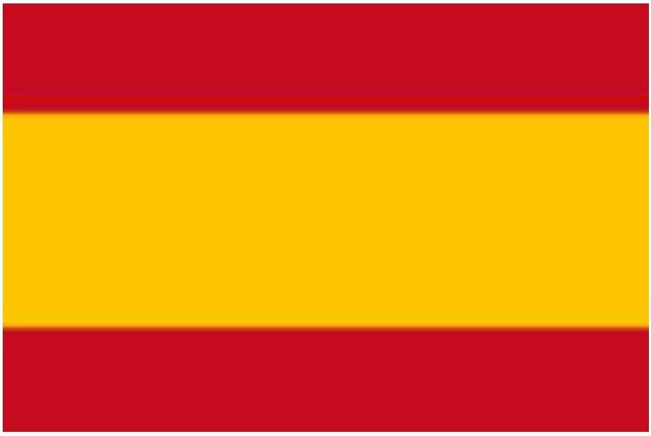 Bandera nacional de España, 152, 4 x 91, 44 cm (sin escudo): Amazon.es: Hogar