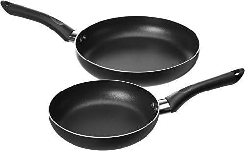 AmazonBasics Non-Stick Cookware Set, Pots and Pans – 8-Piece Set 41NBwOS1DzL