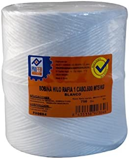 Cuerda Rafia 1 C.Bobina Blanco Profer Home 750 G PROFER HOME