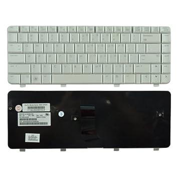 Desconocido Generic 538108-001 Keyboard - Componente para ordenador portátil (Teclado, HP, Color blanco, HP Pavilion DV4-1000, DV4-2000): Amazon.es: ...