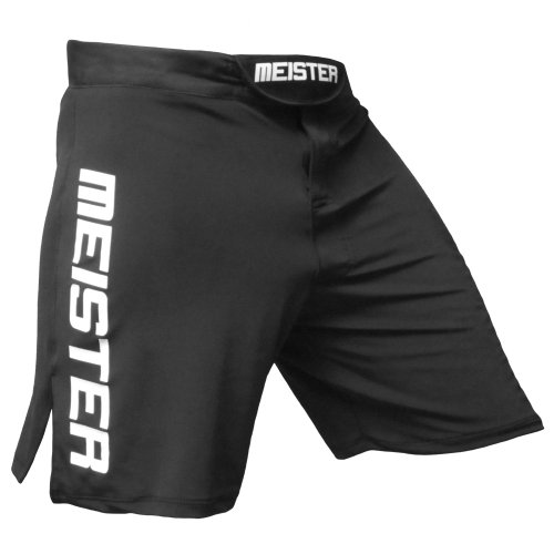 Meister MMA Sprint Stretch Board Shorts - Black - 38/39 ()