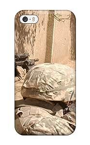 New Tpu Hard Case Premium Iphone 5/5s Skin Case Cover(us Infantry)