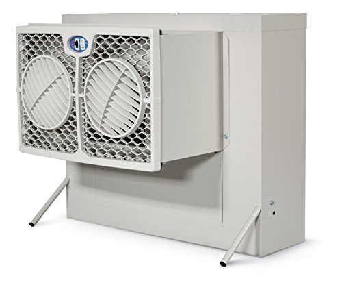 Brisa 2800 CFM 2-Speed Front Discharge Window Evaporative Cooler for 600 sq. ft. (with Motor) -  AeroCool, WH2906