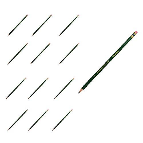 Prismacolor Col-Erase Erasable Colored Pencil, Green, 12 Count