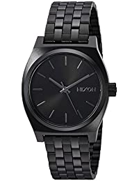 Nixon Women's The Medium Time Teller All Black