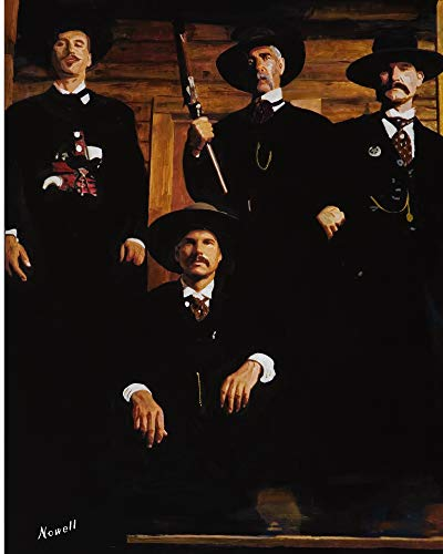11 x 14 Inch Puzzle Tombstone Wyatt EARP Doc Holliday for sale  Delivered anywhere in USA