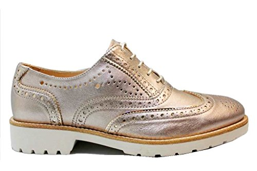Para Nerogiardin Cordones Bronce Zapatos De Mujer Bxxqrf1t