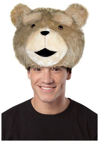 Ted The Movie Hat Adult (Rasta Imposta Ted Hat, Tan, Standard)