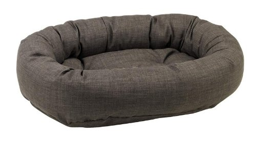 Bowsers Diamond Series Linen Donut Dog Bed