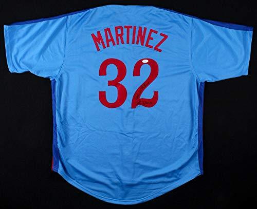 Dennis Martinez Autographed Jersey - Custom) - Coa! - JSA Certified - Autographed MLB Jerseys