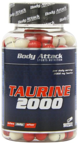Body Attack Taurine 2000, 1er Pack (1 x 104 g)