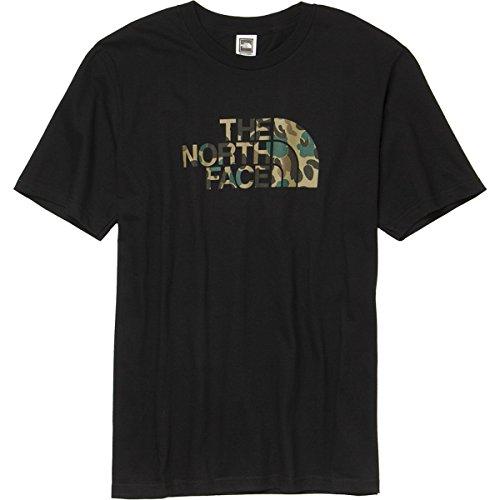 The North Face Men's S/S Duckmo Camo Tee TNF Black M