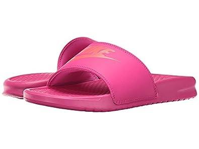 Amazon.com | Nike Benassi JDI Slide Deadly Women's Sandals 7 B(M) US (11  B(M) US) | Sport Sandals & Slides