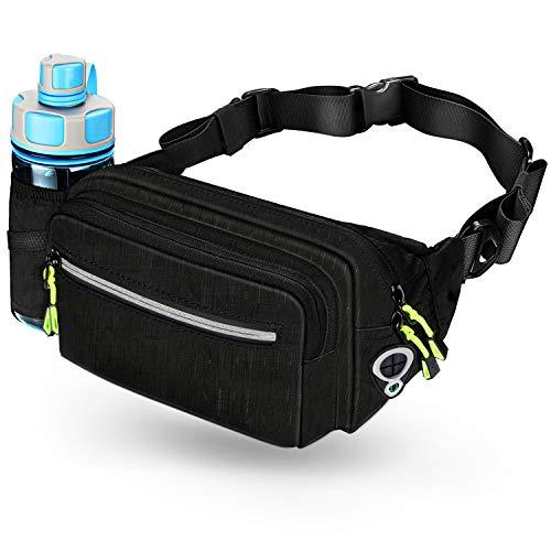 Waist Bag With Water Bottle Holder For Men Women Outdoors Dog Hiking Fanny Pack