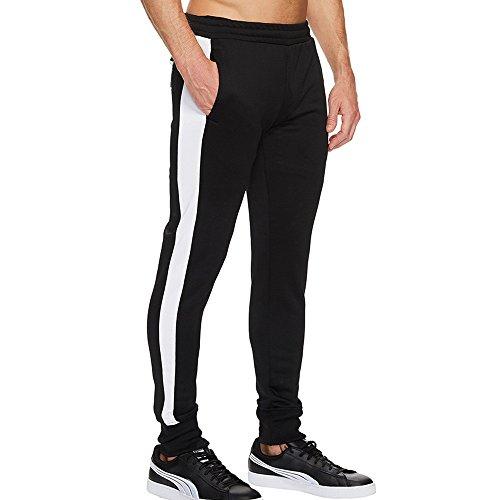 Tifiy Rayure Outdoor Fit Pantalons Pantalon Taille Simple Solide Jcu1lKTF3
