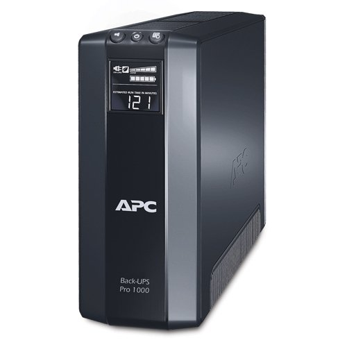 APC Back-UPS Pro 1000VA UPS Battery Backup & Surge Protector - International Drive Outlets