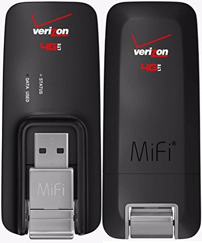 Verizon MiFi USB620L U620L 4G LTE Global USB Modem Black,Verizon (Certified Refurbished)
