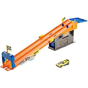 ROOFTOP RACE GARAGE PLAY SET
