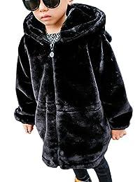 Cromoncent Boys' Hoodie Warm Fleece Thicken Fashion Outwear Jacket Coat