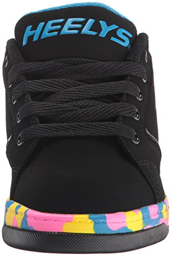 Heelys Fremdrive 2,0 Mænds Sneaker Sort / Pink / Blå Konfetti