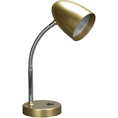 Mainstays LED Desk Lamp - Gold