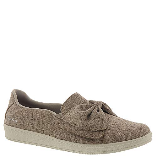 Skechers Madison Ave My Town Womens Slip On Sneakers Taupe 9.5