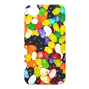 LCJ Color Bean Back Case for iPhone 4/4S