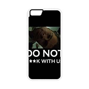 Fight Club Do Not Fk With Us iPhone 6 Plus 5.5 Inch Cell Phone Case White Exquisite gift (SA_680656)