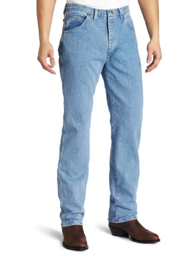 UPC 051071572606, Wrangler Men's Big & Tall Rugged Wear Classic Fit Jean, Rough Wash, 44W x 30L
