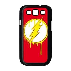 Flash Emblem Drip Samsung Galaxy S3 9300 Cell Phone Case Black Pretty Present zhm004_5994419