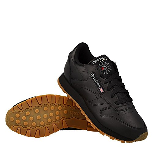 Reebok Damen Classic Leather Sneaker Schwarz