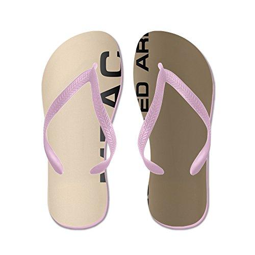 CafePress Ncis24d - Flip Flops, Funny Thong Sandals, Beach Sandals Pink