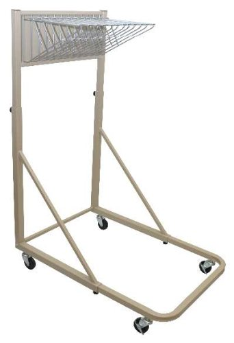 Adir Corp. 613 Vertical File Rolling Stand for Blueprints - Sand Beige by Adir Corp.