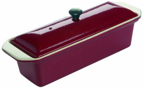 Le Chasseur 071072 Enameled Cast Iron Rectangular Terrine Fry Pan by Chasseur/ Le Chasseur