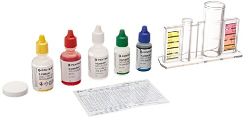 Pentair R151186 78HR All in One 4 Way pH and Chlorine Test Kit