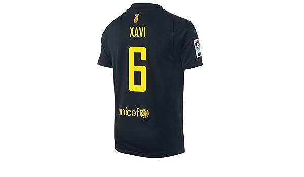the latest b2080 6ee1f Amazon.com: XAVI #6 Nike FC Barcelona Away Jersey YOUTH ...