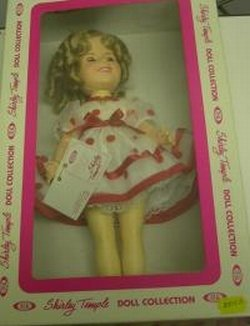 Shirley Temple Stand Up And Cheer Deal 11 1/2 Inch Doll