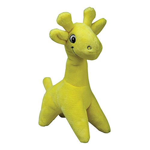 Smart Pet Love Tender-Tuffs - Comfort - Tough Dog Toy - Proprietary TearBlok Technology - Yellow Giraffe (Giraffe Tender)