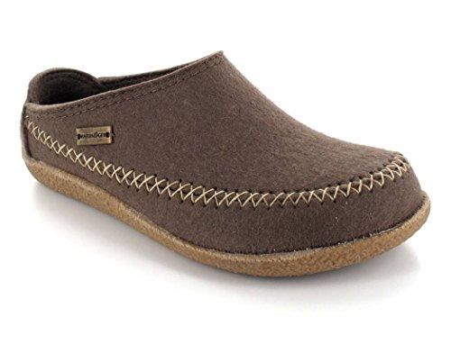 Haflinger Credo 718001 - Zapatillas de casa de fieltro unisex Taupe