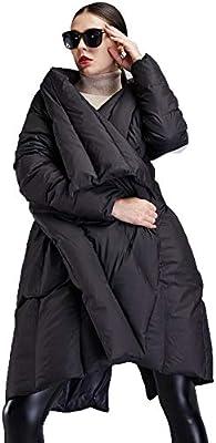 Sijux Chaqueta Polo para Mujer, De Color Grueso, con Cuello En V Y ...