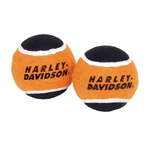 Harley-Davidson® Plush Tennis Balls Dog Toy