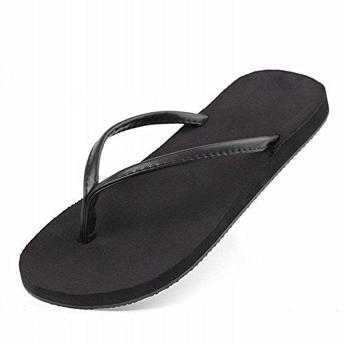 Sandalias A arrastra Simples Hombres Verano Zapatos de Hombres los Flip Clips de AN Playa Plana de Flops los 7TUfHq