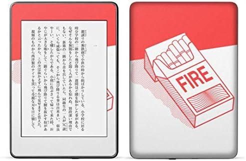 igsticker kindle paperwhite 第4世代 専用スキンシール キンドル ペーパーホワイト タブレット 電子書籍 裏表2枚セット カバー 保護 フィルム ステッカー 016143 たばこ 分煙
