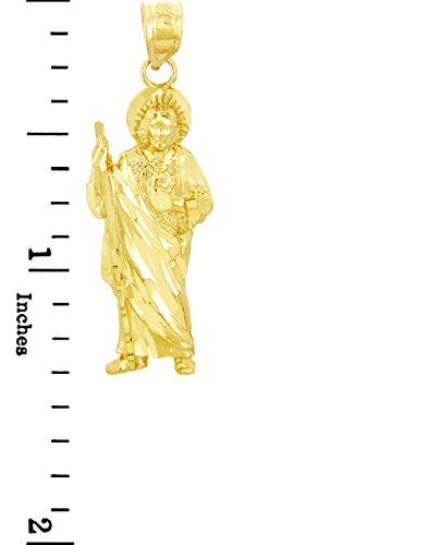 10 ct 471/1000 Religieux Charmes - Saint Jude Charme Or Pendentif